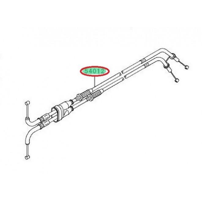 Achat cables de gaz double zx6r 540120194 KAWASAKI MOTOSHOP 35
