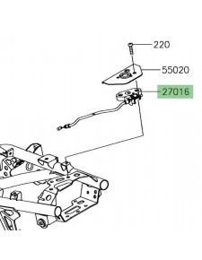 Câble ouverture des gaz Kawasaki Versys-X 300 (2017