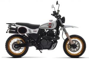 Mash X-Ride 650 Blanc Genève