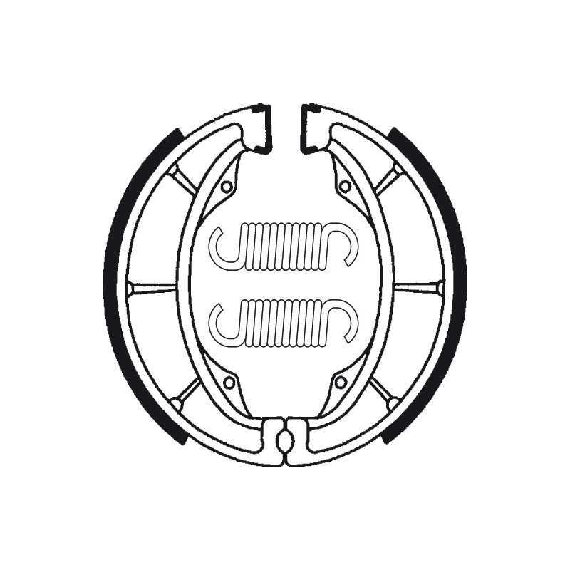 (BA183) KAWASAKI Z ELIMINATOR 250 AÑO 88 TRASERAS BENDIX