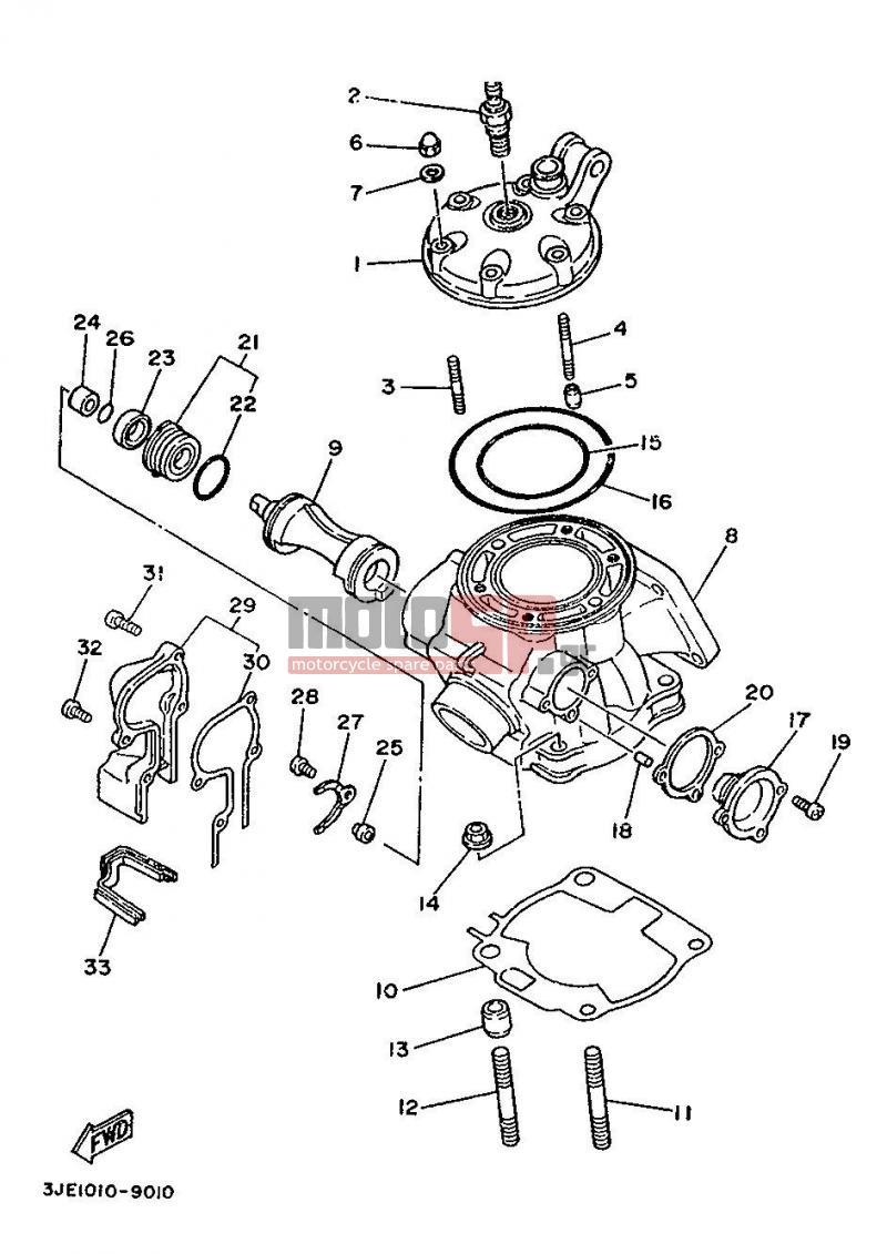 2003 yz250 wiring diagram