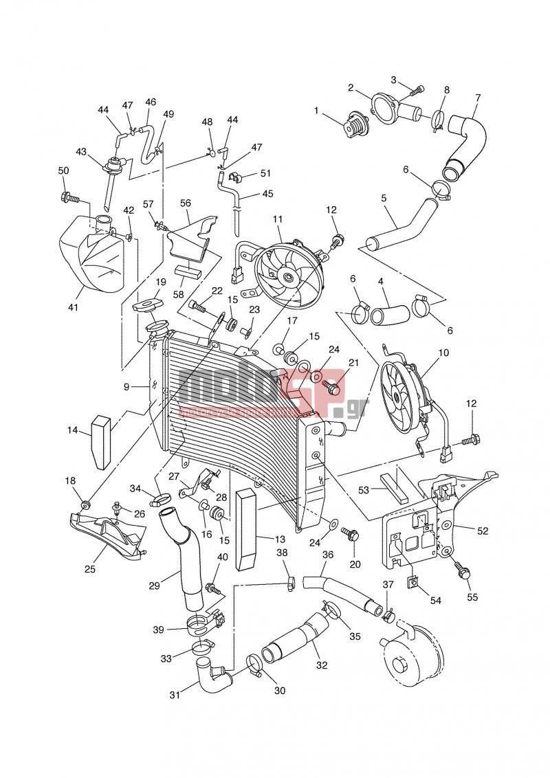 hight resolution of engine transmission radiator hose