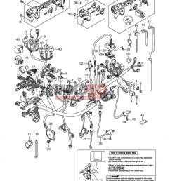 suzuki an650a e2 abs burgman 2009 electricalwiring harness an650ak6 ak7 [ 800 x 1130 Pixel ]