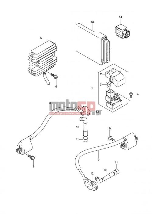 small resolution of suzuki sv650 e2 2003 electricalelectrical model k3 k4 k5