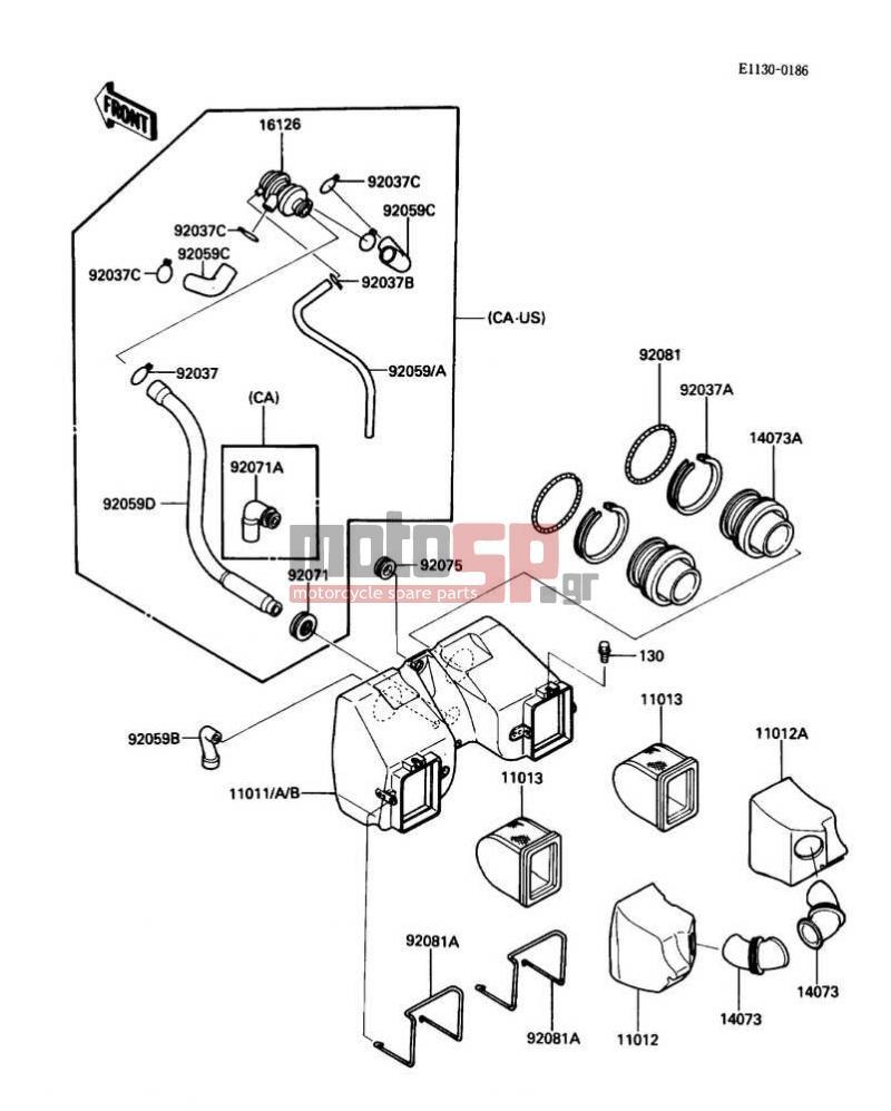 kawasaki bayou 300 4x4 wiring diagram sun path of delhi 1987 motorcycle database 454 19 stromoeko de klr 650 engine