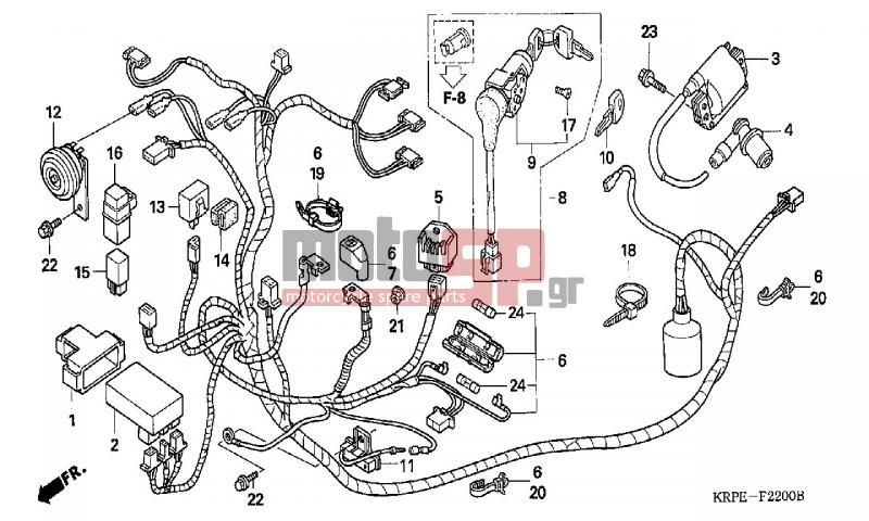 Honda Lead Wiring Diagram