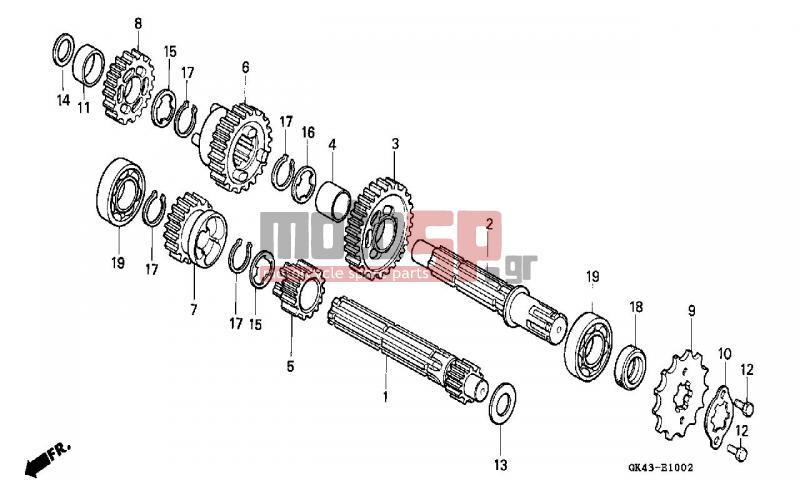 Service manual [Exploded View 2006 Honda Odyssey Manual