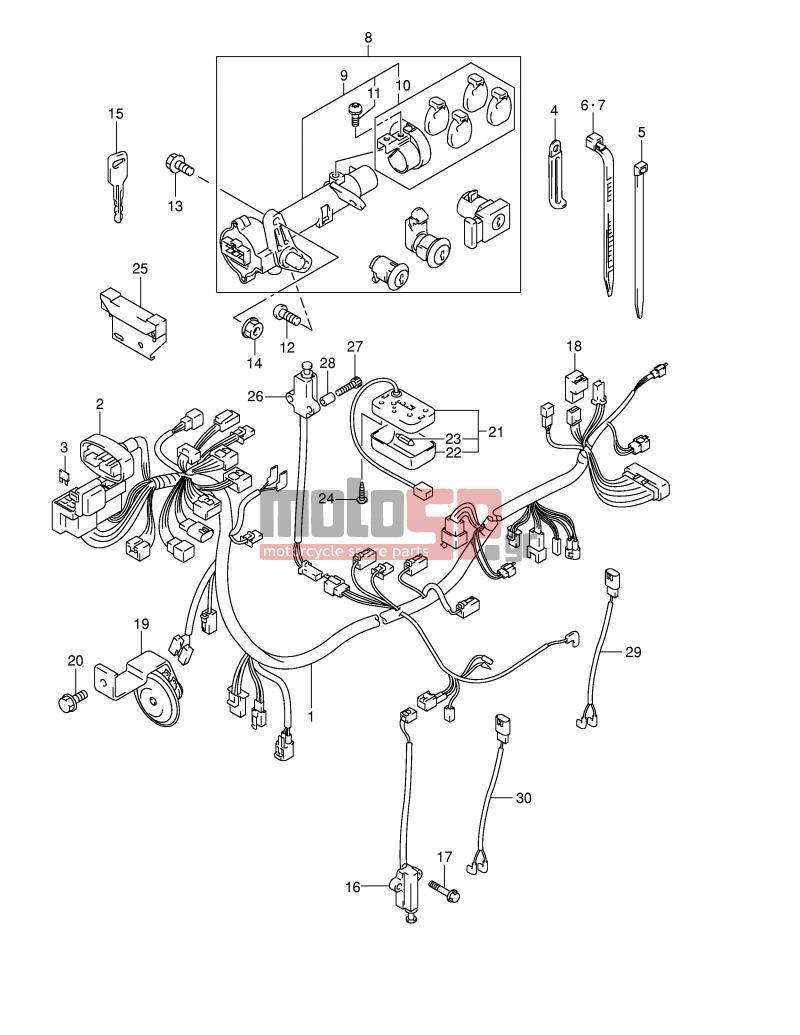 1400 Suzuki Intruder Wiring Diagram. Suzuki. Wiring