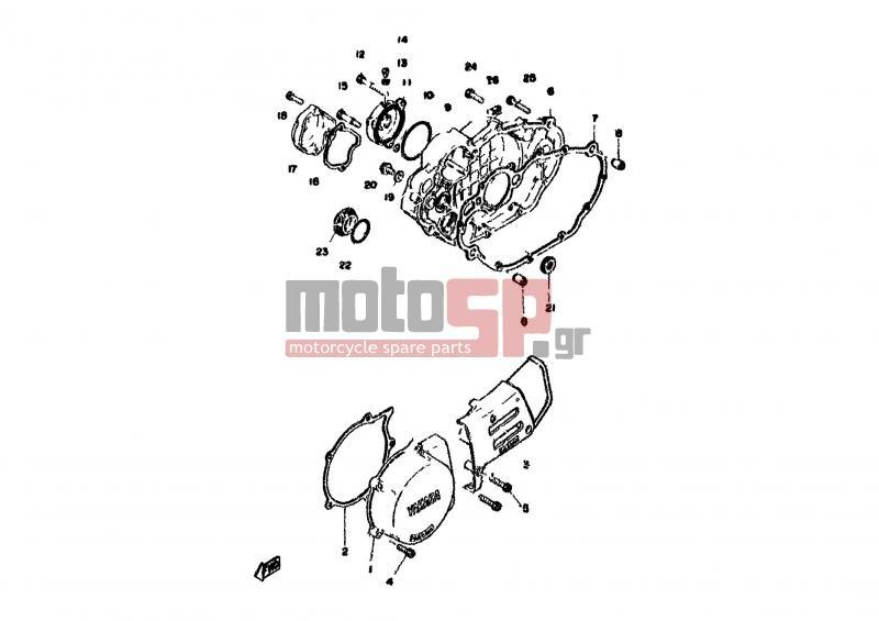 Yamaha Xt500 Engine Diagram. Yamaha. Wiring Diagrams Schematic