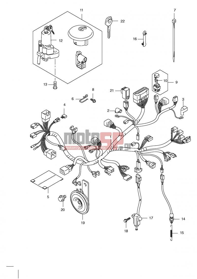 suzuki 125 wiring diagram