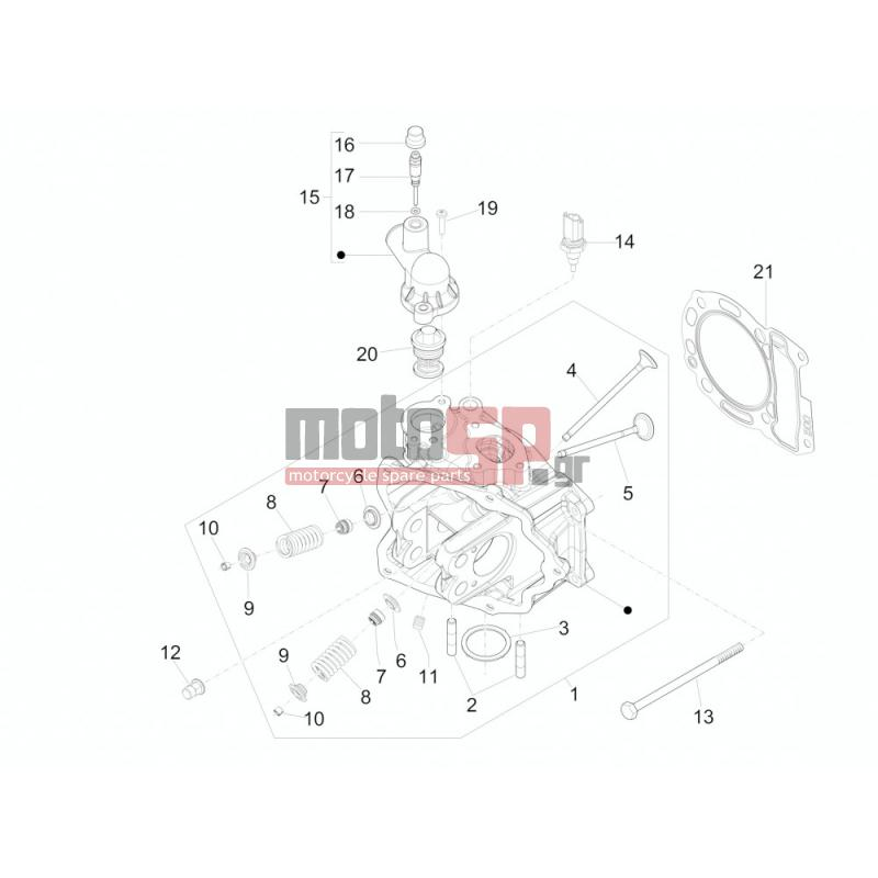 Vespa Gts Wiring Diagram. Vespa Parts Diagram, Vespa Clock