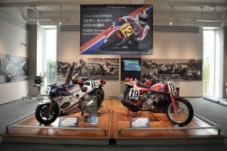 Una sezione è dedicata alle moto di Freddie Spencer.
