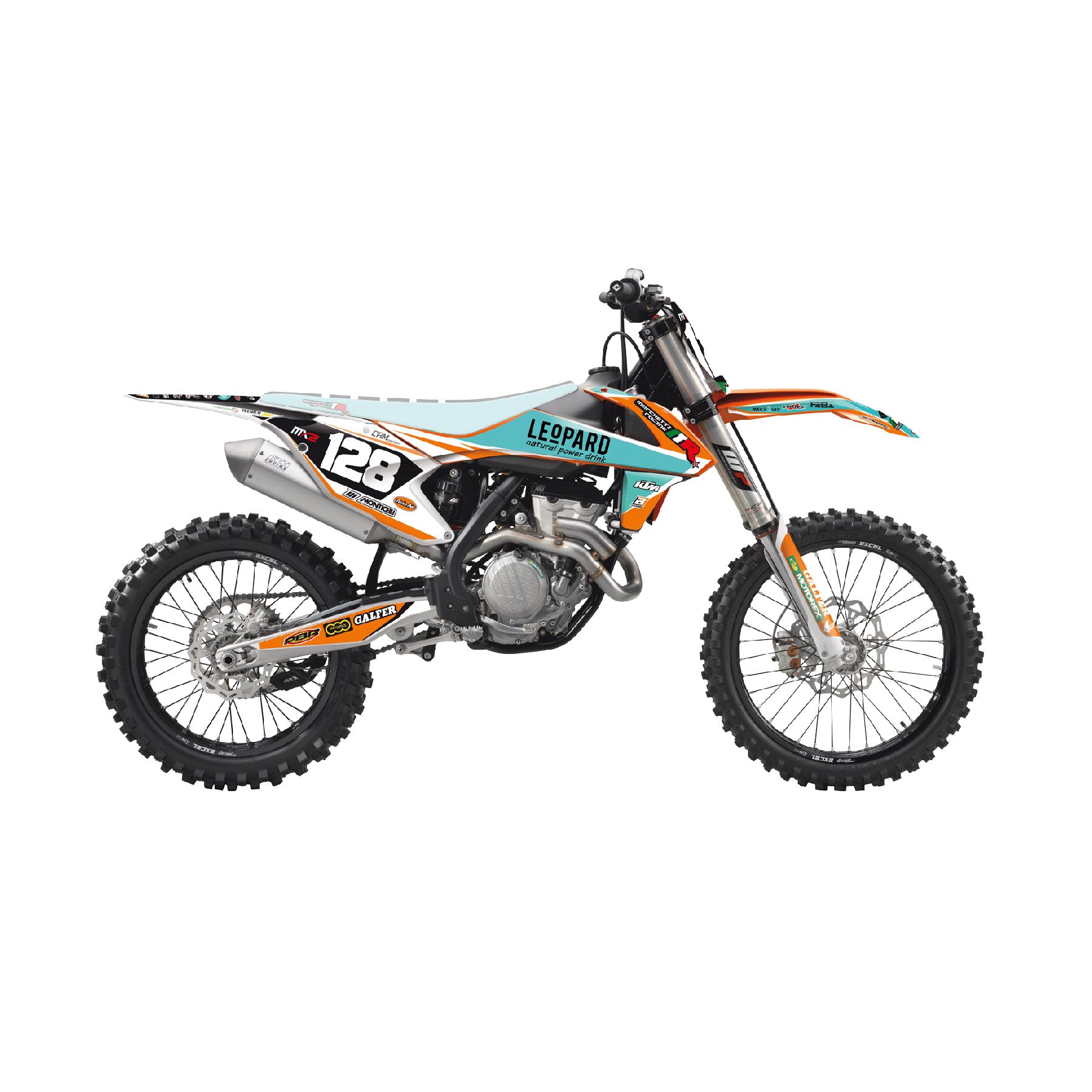Blackbird Kit Adesivi Replica Ktm Marchetti Racing