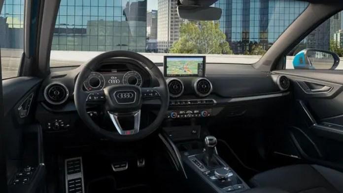 Audi Q2 Interior dashboard