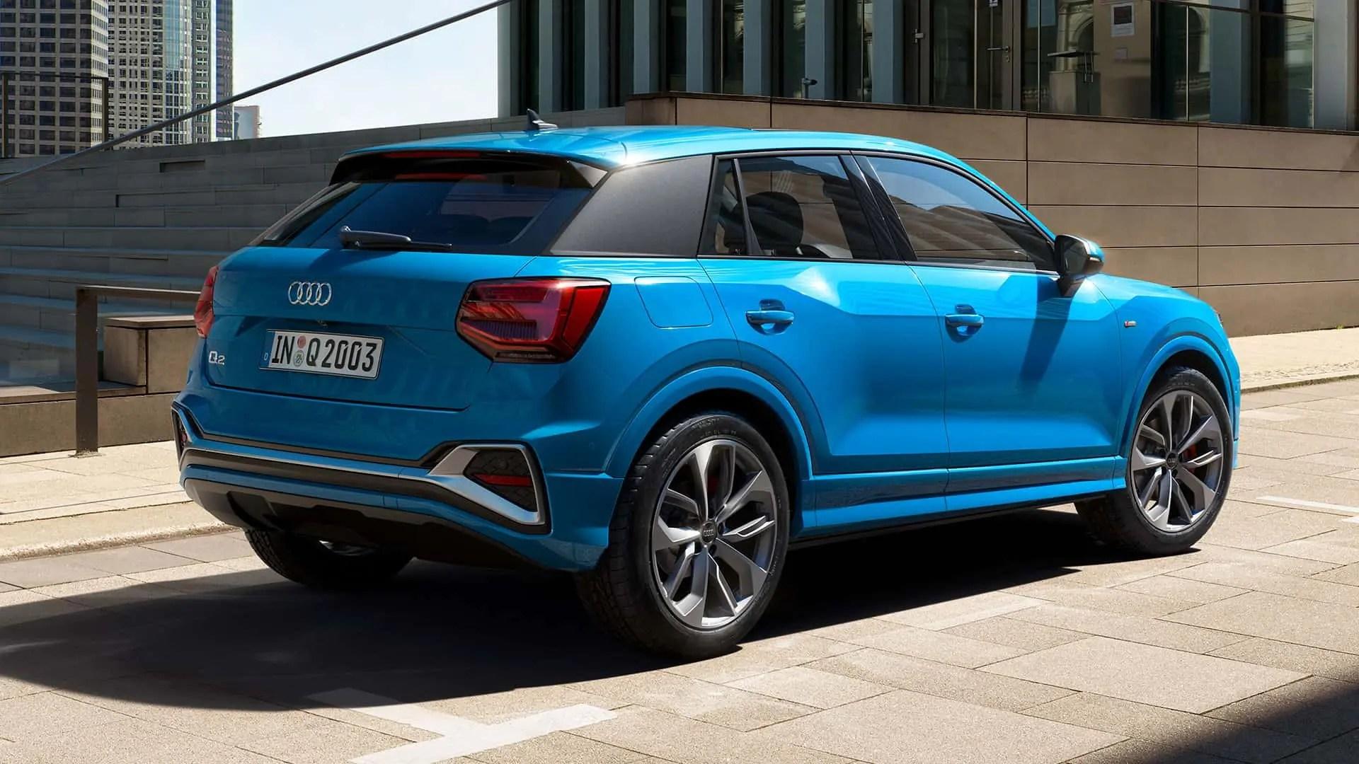 Audi Q2 back image