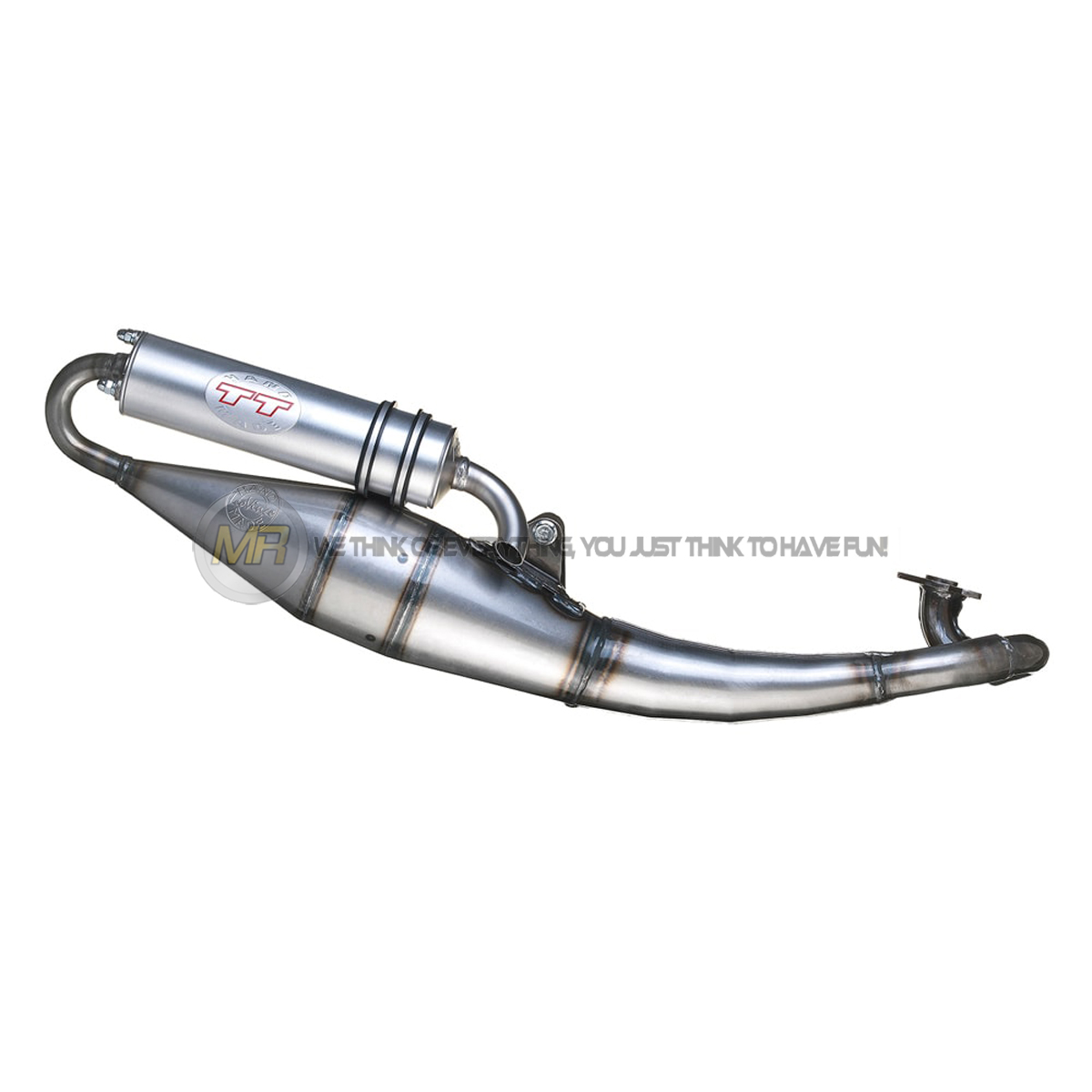 GILERA RUNNER 50 SP 2006 06 FULL SYSTEM EXHAUST HEADER