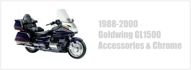 Goldwing GL1500 Accessories and Chrome Parts