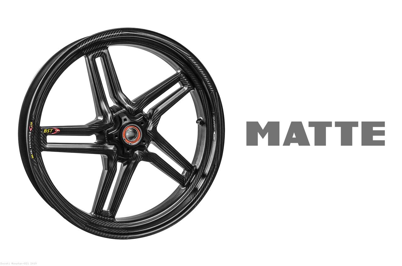 Carbon Fiber Rapid Tek Front Wheel by BST Ducati / Monster