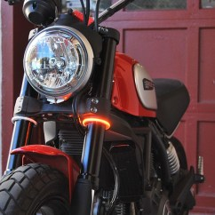 Turn Signal Module Harley Davidson 3 Phase Ups Wiring Diagram Circuit Rage360 Wrap Around Fork Led Signals By Nrc (rage-360)