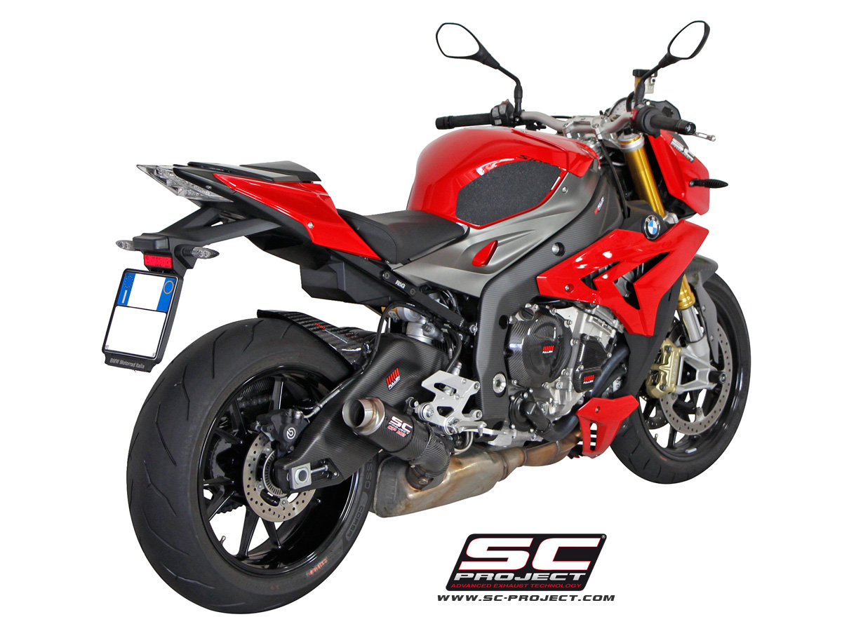 bmw s1000r gp m2 exhaust by sc project