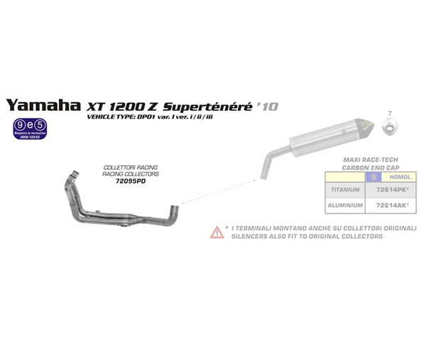 Racing Headers by Arrow (72095PD)