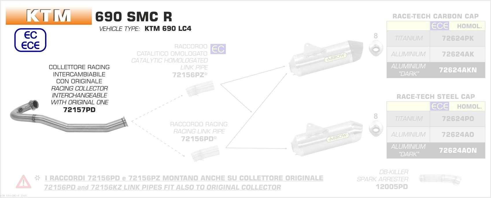 Racing Collectors by Arrow KTM / 690 SMC R / 2019 (72157PD)
