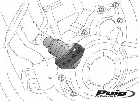 PUIG CRASH PADS R12 (6857)