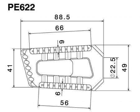 Rizoma Touring Peg Kit (PE622)