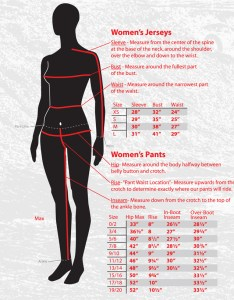 Fly racing womens size chart dirt bike clothing also pants and jerseys rh motoxoutlet