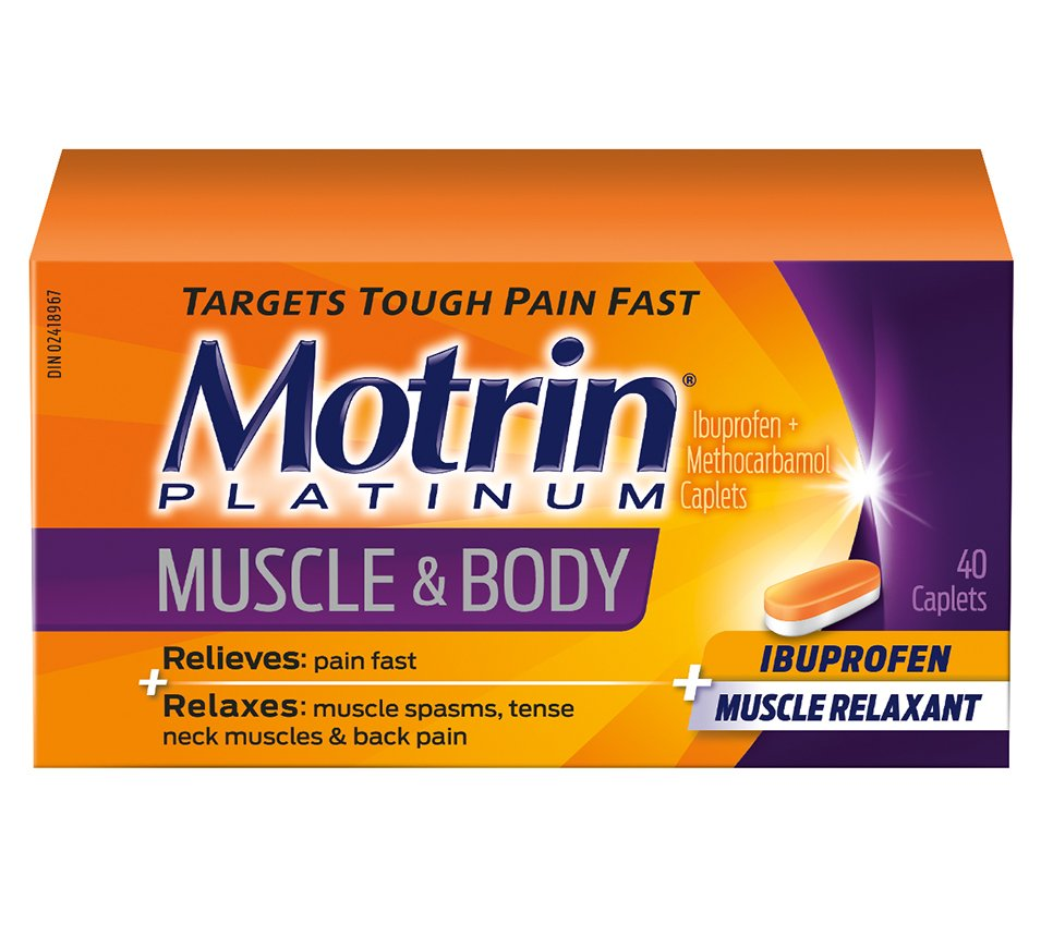 Motrin® Platinum For Muscle Aches & Body Pain | MOTRIN®