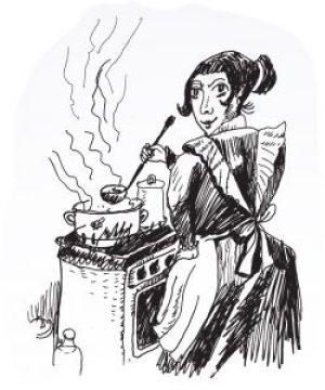 Fig. A. Recette du lait de poule.