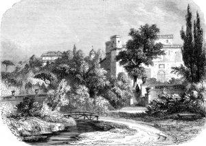 Fig. A. Jardins du roi René. Aix-en-Provence.