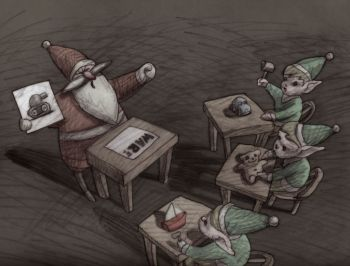 Santa, the Fascist Years, 2008, Bill Plympton