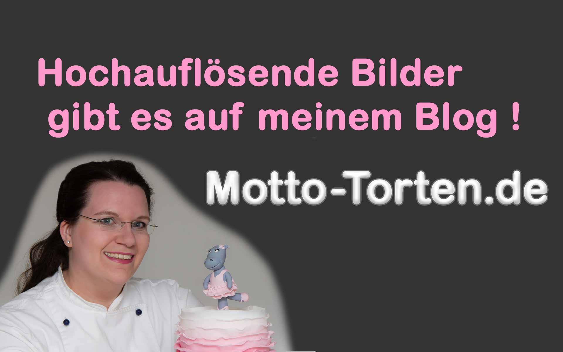 Saustarke Geburtstagstorte  MottoTortende