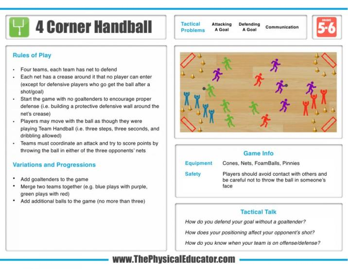 4-Corner-Handball
