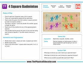 4-Square-Badminton
