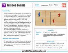 Frisbee-Tennis