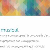 Acrosport musical