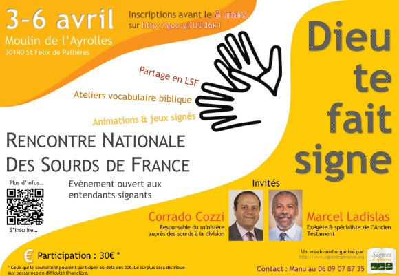 Rencontre nationale des sourds chrétiens et adventistes de France