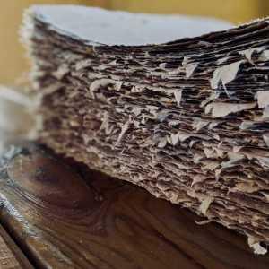 Papier fait main, tradition papetière