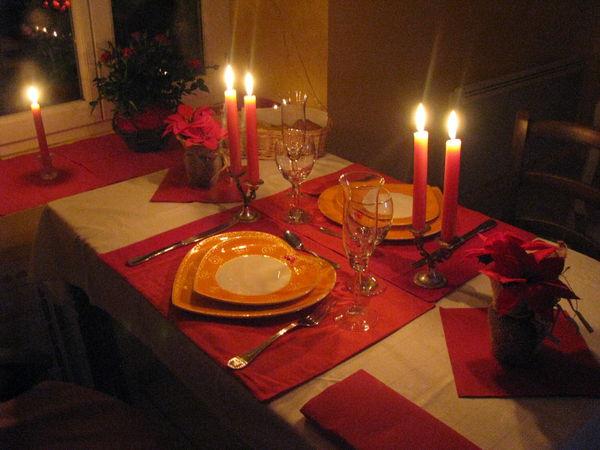 Ftes  petit dinner aux chandelles gite dtape  Moulin Piongo