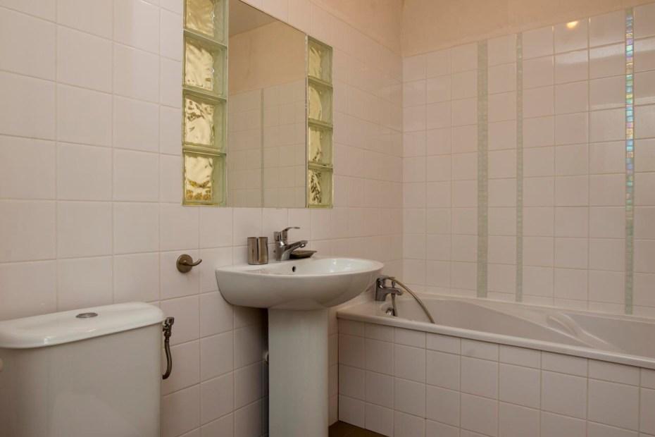 Salle de bain à l'étage