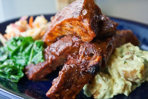 salade-cote-porc-barbecue1