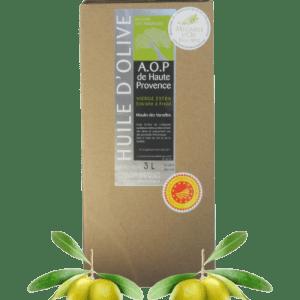 Huile d'olive AOP Haute Provence