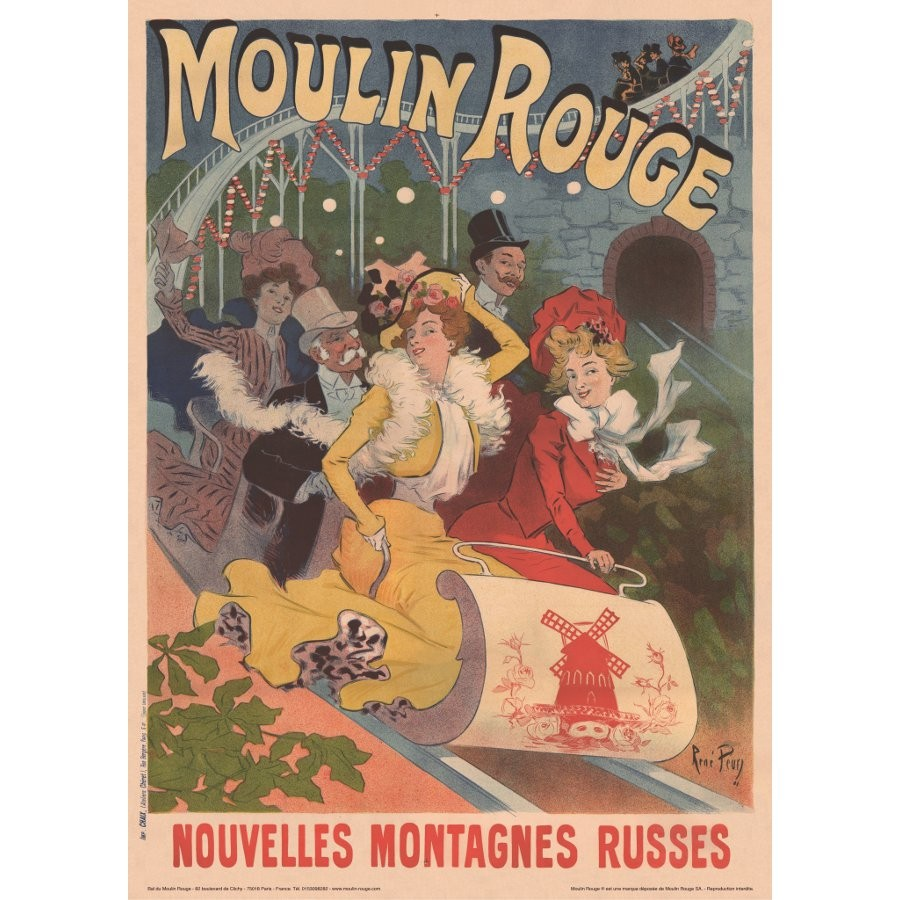 moulin rouge official store affiche
