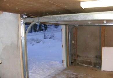 Garage Door Track Low Clearance