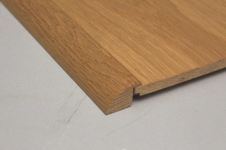 barre de seuil en chene massif 18 x 35 mm pour parquets de 15 mm d epaisseur