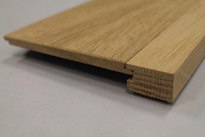 arret de parquet chene massif 19 x 30 mm pour parquets de 18 19 mm