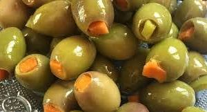 Green olive stuffed with Carrot-0.6-kg