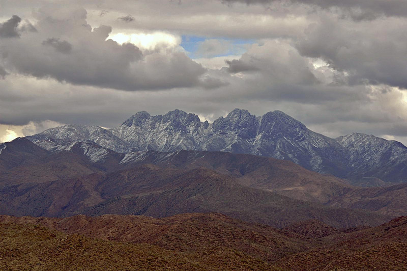 Four Peaks Mountain Information
